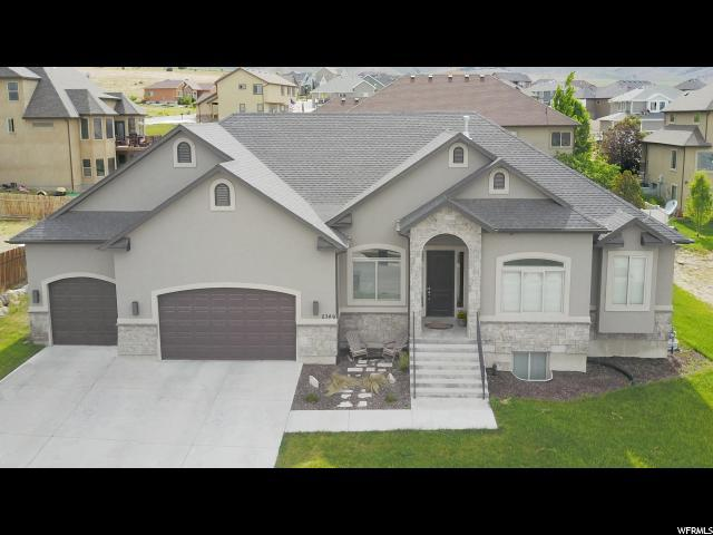 2349 S Hunter Dr W, Saratoga Springs, UT 84045 (#1524744) :: The Fields Team