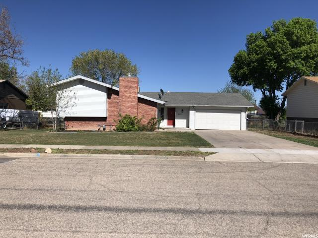 202 N 850 W, Vernal, UT 84078 (#1524885) :: goBE Realty
