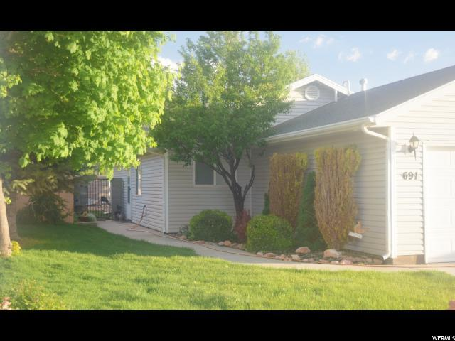 691 W 60 N, Parowan, UT 84761 (#1525046) :: Big Key Real Estate