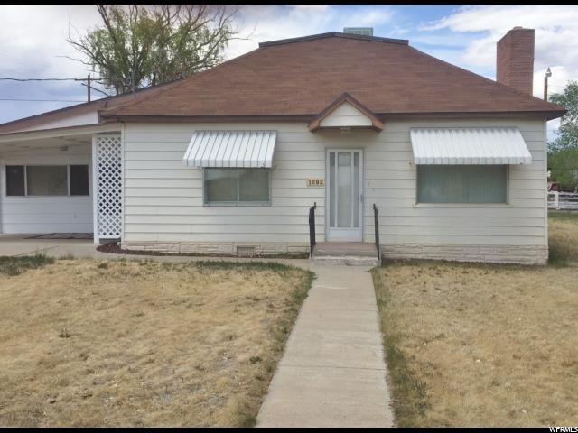 1092 W 200 N, Roosevelt, UT 84066 (#1525449) :: Big Key Real Estate