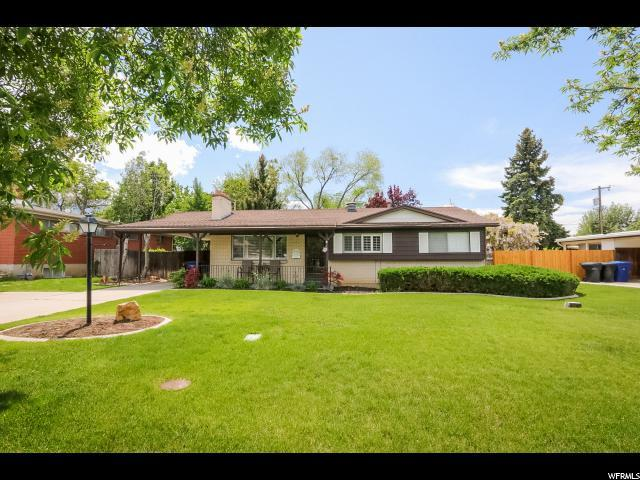 2760 E Glen Heather Ave S, Cottonwood Heights, UT 84121 (#1525491) :: Colemere Realty Associates