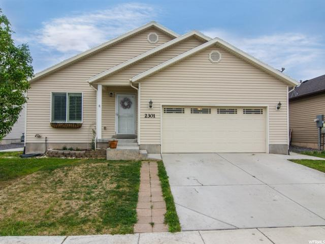 2301 E Ox Yoke Dr, Eagle Mountain, UT 84005 (#1525497) :: goBE Realty