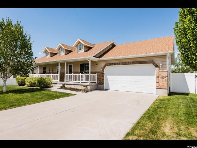 907 W 2980 S, Nibley, UT 84321 (#1525705) :: Colemere Realty Associates