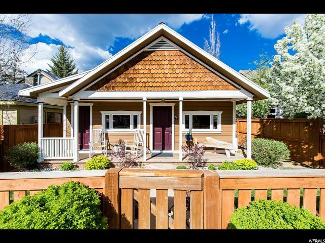 1326 Park Ave, Park City, UT 84060 (#1525752) :: Big Key Real Estate