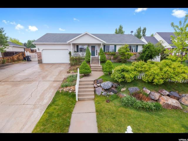 21 W Oak Ridge Dr, Elk Ridge, UT 84651 (#1525835) :: Bustos Real Estate | Keller Williams Utah Realtors