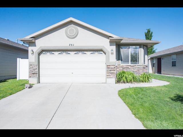 751 N Fox Hollow Dr W, North Salt Lake, UT 84054 (#1525956) :: Colemere Realty Associates
