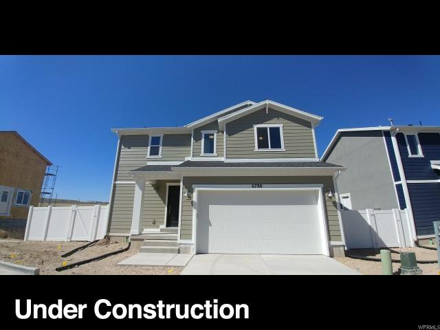 6824 W Pamona Ct S #37, West Jordan, UT 84081 (#1527052) :: Bustos Real Estate | Keller Williams Utah Realtors