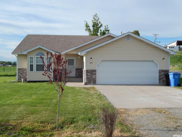 655 E 400 N, Wellsville, UT 84339 (#1527163) :: Big Key Real Estate