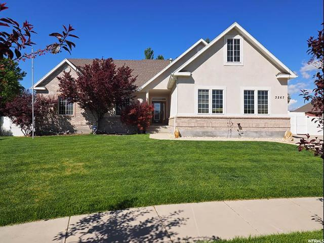 3267 W Clarkston Cir, South Jordan, UT 84095 (#1527170) :: The Fields Team