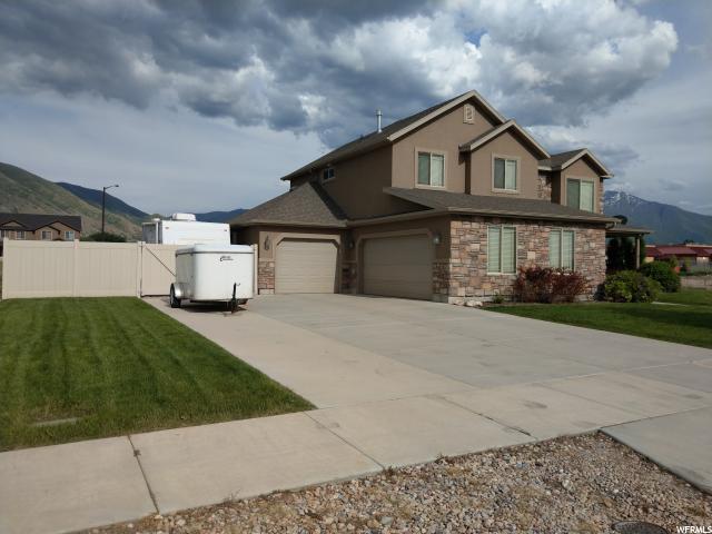 154 N 800 W, Springville, UT 84663 (#1527284) :: Bustos Real Estate   Keller Williams Utah Realtors