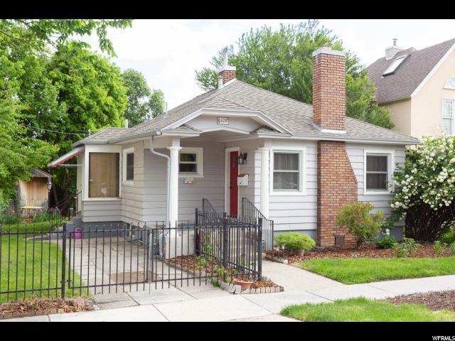 420 E 3RD Ave N, Salt Lake City, UT 84103 (#1527494) :: Exit Realty Success