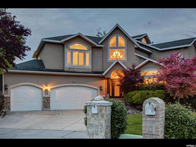7146 Treasure Ridge Cir, Cottonwood Heights, UT 84121 (#1527686) :: Colemere Realty Associates