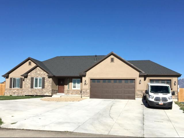 8633 N Peppergrass Dr, Eagle Mountain, UT 84005 (#1527695) :: Exit Realty Success