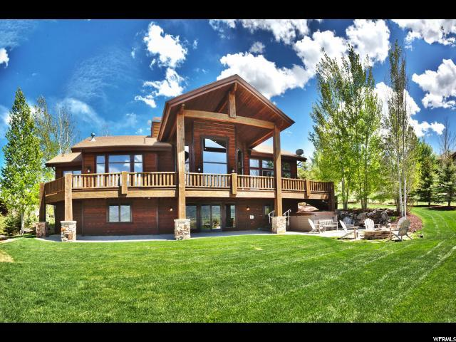 5860 Mountain Ranch Dr, Park City, UT 84098 (#1527794) :: The Fields Team
