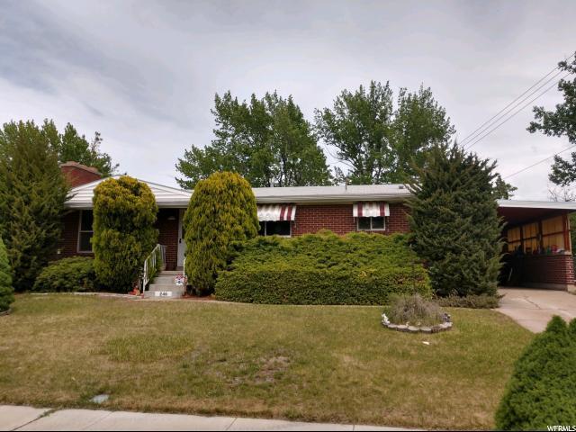 246 N Terrace Dr. E, Clearfield, UT 84015 (#1527814) :: Bustos Real Estate | Keller Williams Utah Realtors