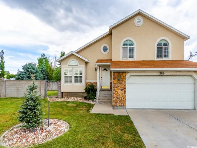 1386 W Kingspointe Ln, West Valley City, UT 84119 (#1527902) :: Exit Realty Success