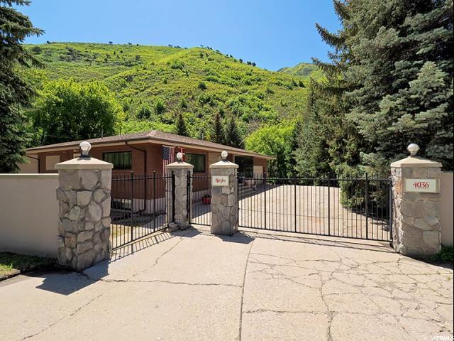 4036 E Emigration Rd, Emigration Canyon, UT 84108 (#1527947) :: Exit Realty Success