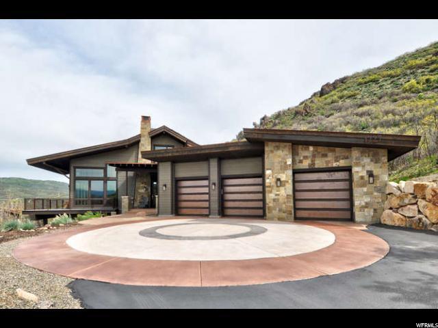 1727 E Canyon Gate Rd, Park City, UT 84098 (#1527983) :: Big Key Real Estate