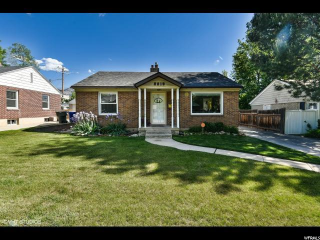 2218 E Redondo Ave, Salt Lake City, UT 84108 (#1528085) :: Big Key Real Estate