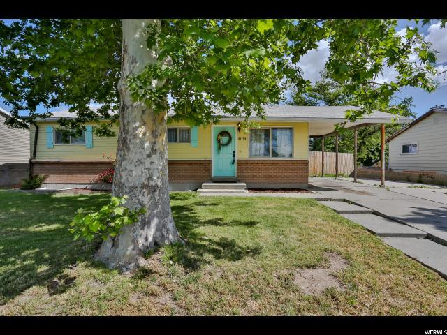 4104 W 4865 S, Kearns, UT 84118 (#1529382) :: Big Key Real Estate