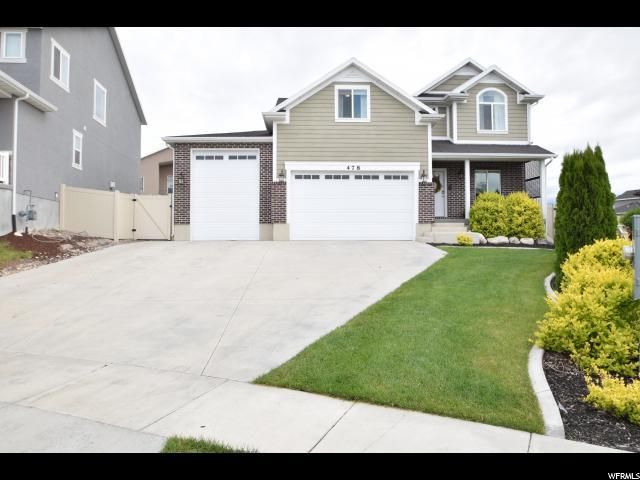 478 W Jack Frost Way, Saratoga Springs, UT 84045 (#1529503) :: Exit Realty Success