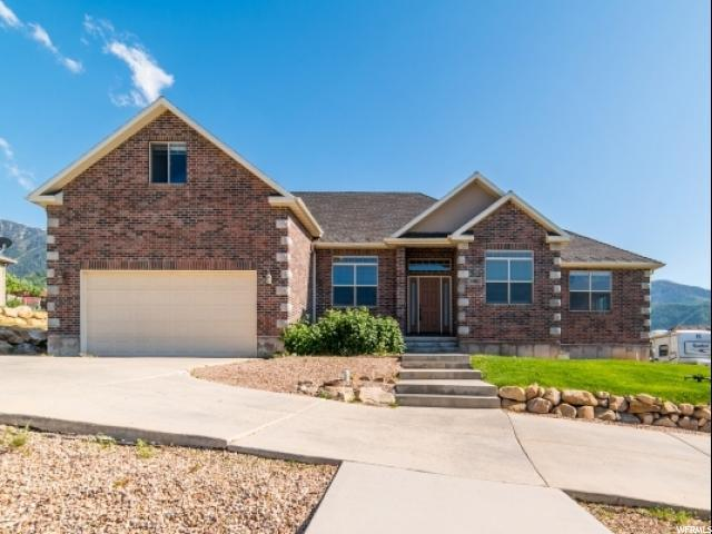 40 E Hudson Dr, Elk Ridge, UT 84651 (#1530455) :: Red Sign Team