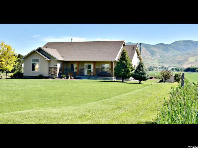 672 N Morgan Valley Dr., Morgan, UT 84050 (#1530504) :: RE/MAX Equity