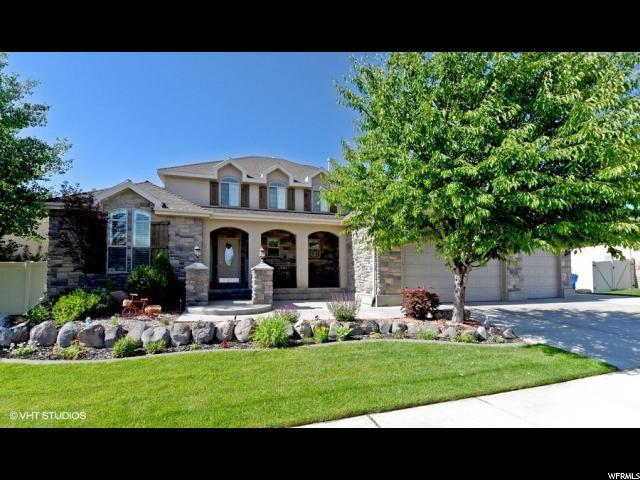 2781 W Warner Way, Riverton, UT 84065 (#1530578) :: Big Key Real Estate