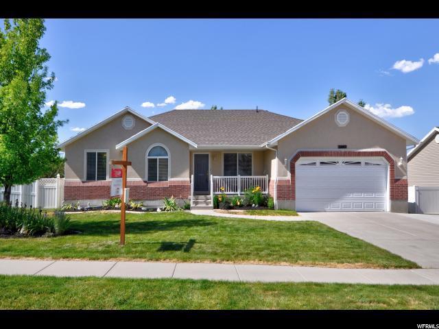 5242 W Elk Horn Peak Dr, Riverton, UT 84096 (#1531750) :: Exit Realty Success