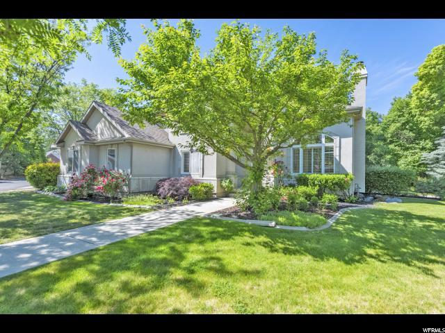 7968 S Willow Cir, Cottonwood Heights, UT 84093 (#1532506) :: Red Sign Team