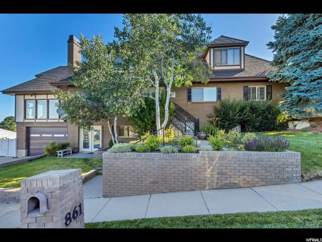 861 E Millbrook Way, Bountiful, UT 84010 (#1532572) :: Exit Realty Success
