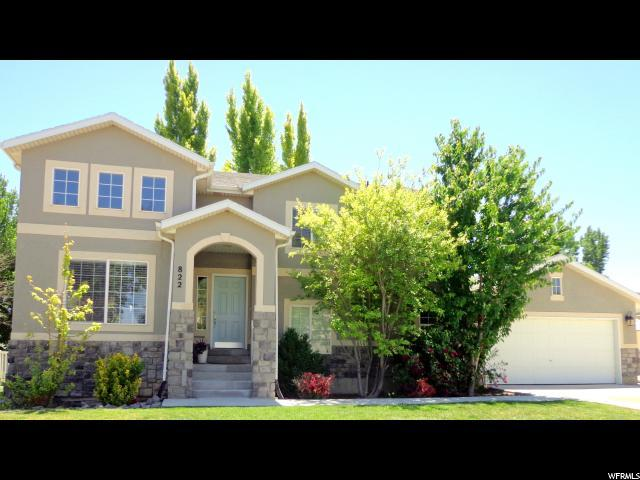 822 S Saratoga Dr, Saratoga Springs, UT 84045 (#1533068) :: Big Key Real Estate