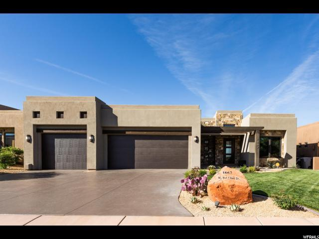 1667 W Red Cloud, St. George, UT 84770 (#1533368) :: Red Sign Team