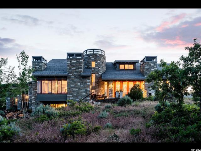 9045 N Twin Peaks Dr, Kamas, UT 84036 (MLS #1533753) :: High Country Properties
