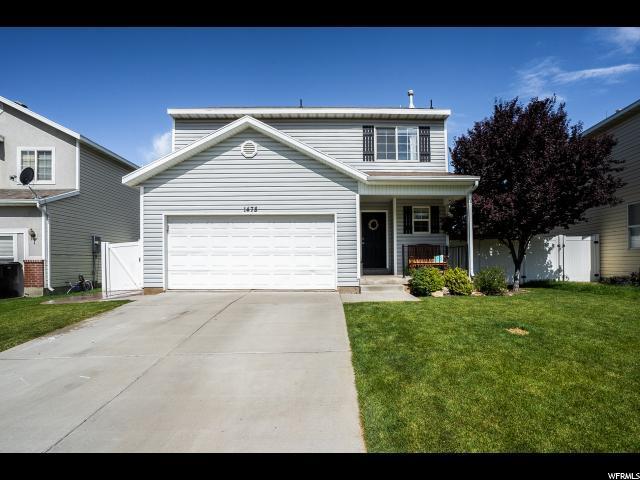1478 S Wallace Dr, Springville, UT 84663 (#1533870) :: Bustos Real Estate | Keller Williams Utah Realtors