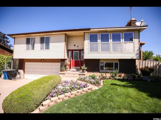 87 E Monticello Dr, Kaysville, UT 84037 (#1535065) :: Exit Realty Success