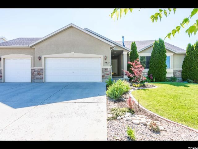 3322 S Hunter Farm Way W, West Valley City, UT 84128 (#1535898) :: Eccles Group