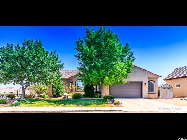 752 W Obsidian Cir, St. George, UT 84770 (#1536357) :: Red Sign Team