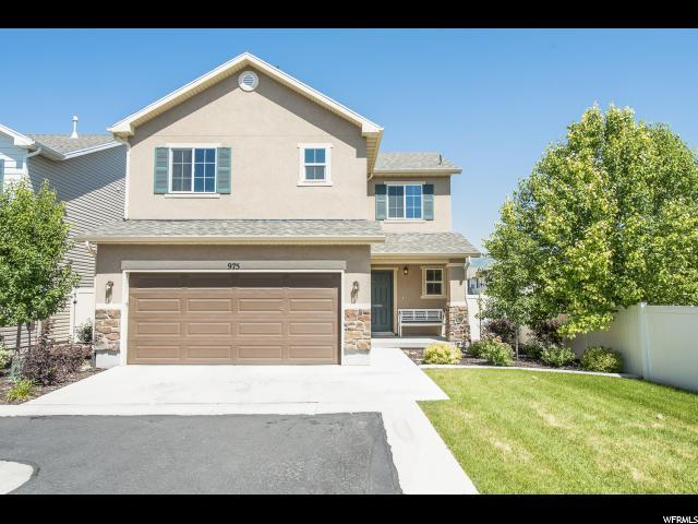975 W Stonehaven Dr, North Salt Lake, UT 84054 (#1536375) :: Exit Realty Success