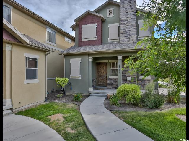 3861 E Cunninghill Dr N, Eagle Mountain, UT 84005 (#1536520) :: Action Team Realty