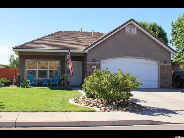 398 W Harvest Ln, Washington, UT 84780 (#1536890) :: Eccles Group