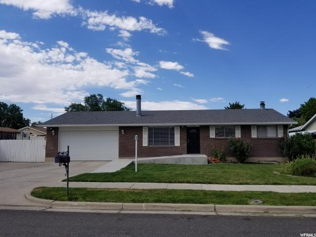 3538 W Sunnybrook Dr S, West Valley City, UT 84119 (#1537749) :: Action Team Realty