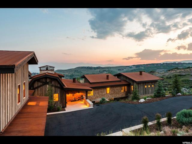 3385 Central Pacific Trl, Park City, UT 84098 (MLS #1538993) :: High Country Properties