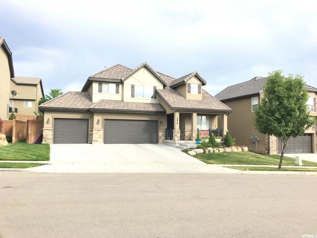 4676 N Shady View Ln W, Lehi, UT 84043 (#1539238) :: Exit Realty Success