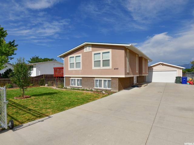 4345 S Cherry View Dr W, West Valley City, UT 84120 (#1539342) :: Red Sign Team