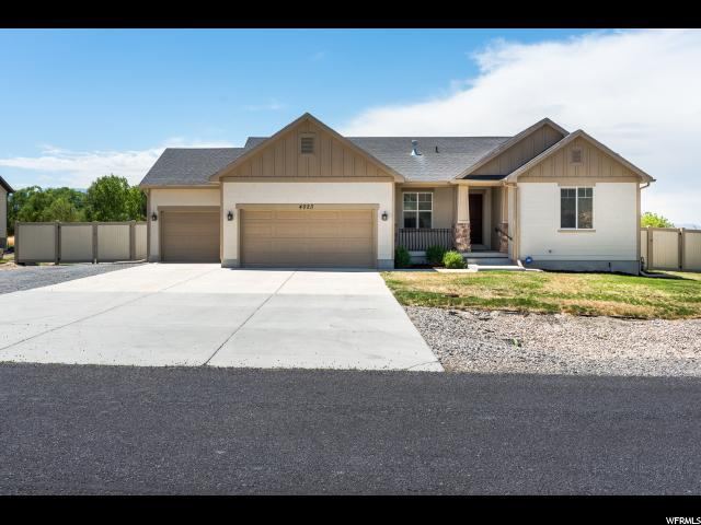 4023 N Rose Springs Rd W, Erda, UT 84074 (#1539391) :: Eccles Group