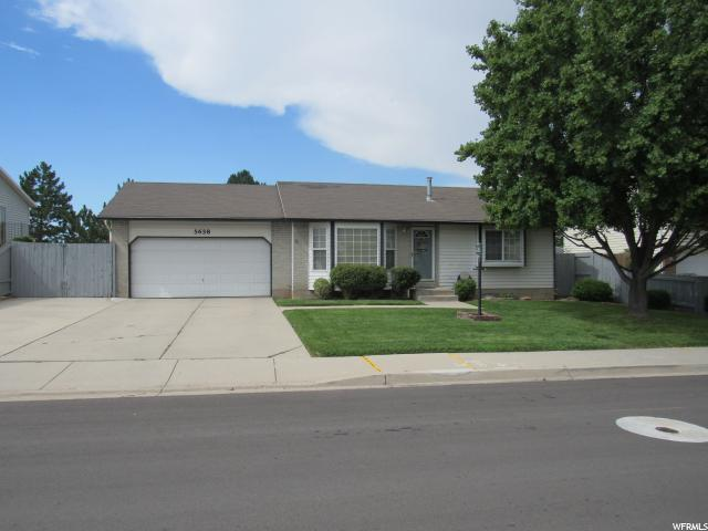5658 W 4300, West Valley City, UT 84128 (#1539439) :: Action Team Realty