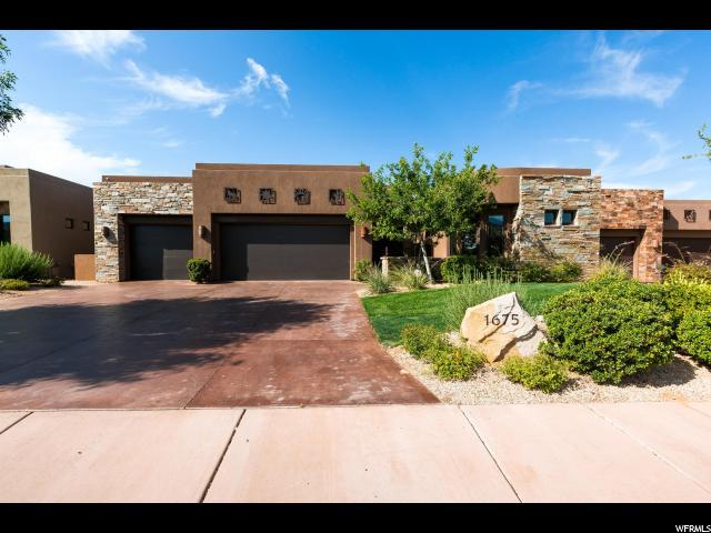 1675 W Red Cloud Dr S, St. George, UT 84790 (#1539841) :: Red Sign Team