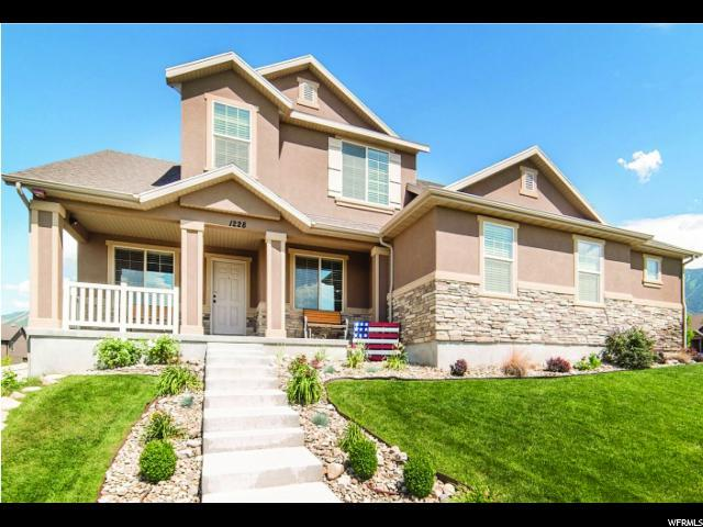 1228 N Bear Hollow Ln W, Elk Ridge, UT 84651 (#1539876) :: Exit Realty Success