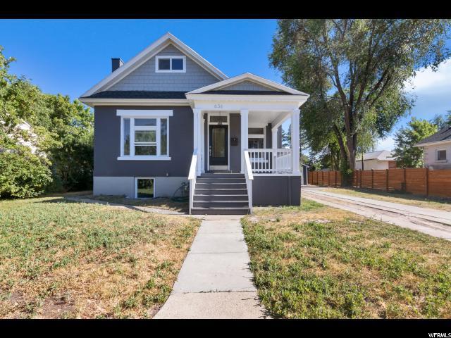 636 E Warnock Ave, Salt Lake City, UT 84106 (#1539980) :: goBE Realty